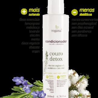 Condicionador Couro Detox 200ml VEGANA/WNF (BR) – Mercato Verde– Loja de Produtos Naturais em Aracaju